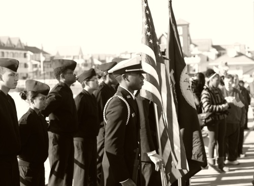 Pearl Harbor Day, Ocean Grove 2015. Paul Goldfinger photo ©