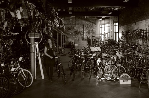 2nd Life Bikes. Asbury Park. By Paul Goldfinger ©