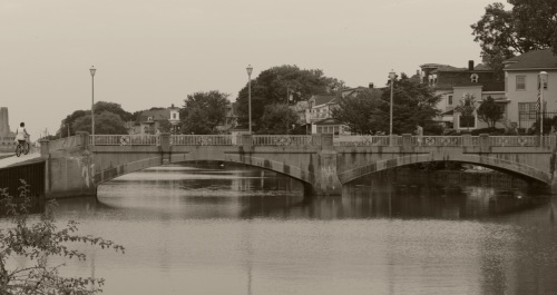Wesley Lake Bridge. Ocean Grove, NJ. 2014. Paul Goldfinger photo ©