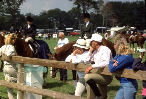 Chester, NJ horse show. By Paul Goldfinger. undated ©