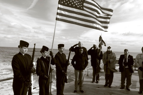 Pearl Harbor Day 2013. Ocean Grove, NJ. Paul Goldfinger photo. ©