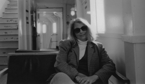 Portrait of Eileen. Martha's Vineyard ferry. Paul Goldfinger photo. ©