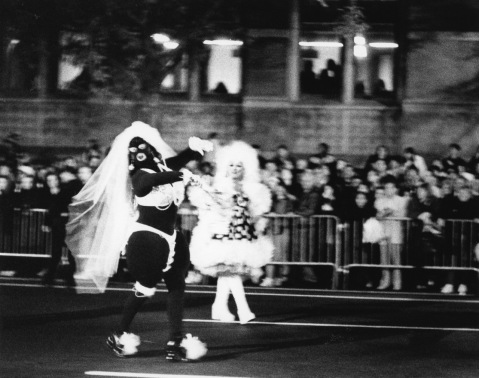 Halloween Parade. Greenwich Village, NYC. By Paul Goldfinger ©