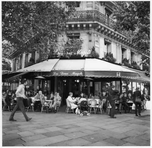 Les Deux Magots. Left Bank, Paris. By Paul Goldfinger ©