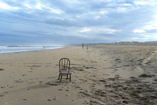 Seating arrangements in Ocean Grove. Paul Goldfinger photo. We did not put that chair there. 2014. ©