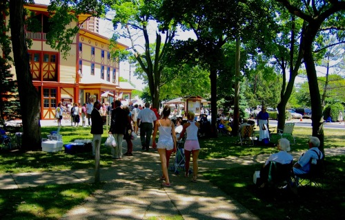 Auditorium Square Park. Ocean Grove. Paul Goldfinger photo ©