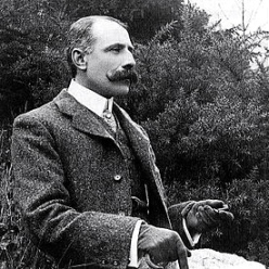 Sir Edward Elgar, c. 1900. This is not a Blogfinger photo.