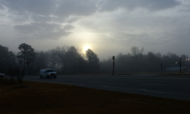 Dawn, North Carolina. December 2012. By Paul Goldfinger. Copyright.