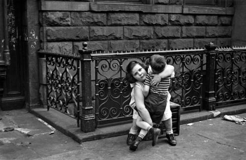 Girl Lifts Boy