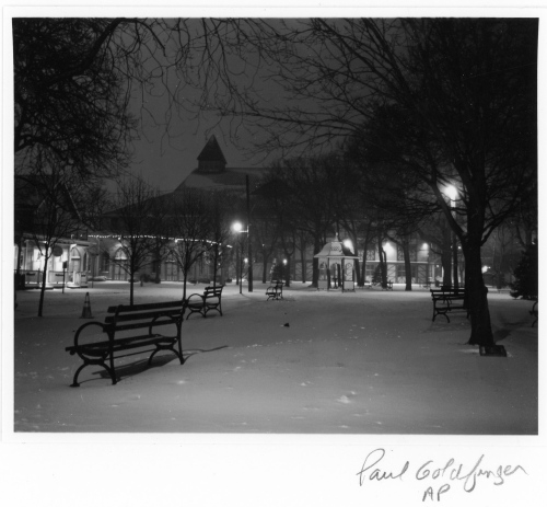Auditorium Square. Ocean Grove, New Jersey.  by Paul Goldfinger. Copyright. Left click to make it bigger.