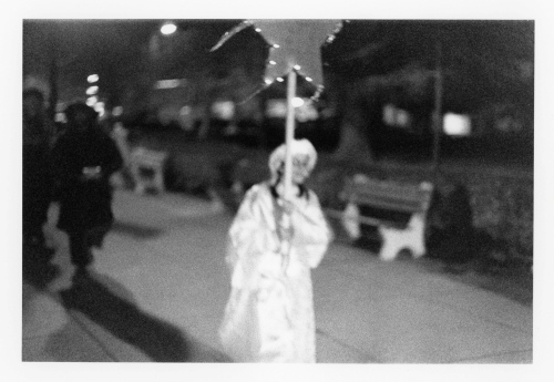Live nativity procession. Ocean Grove, New Jersey. c. 2000. By Paul Goldfinger. Copyright