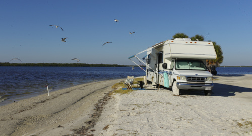 Causeway Islands Park, Fort Myers, Florida. November 2012. Paul Goldfinger photo