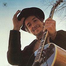 Bob Dylan's cover photo for the album Nashville Skyline