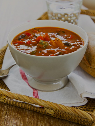 Vegetable soup. Courtesy of    Dr. Traci Stein