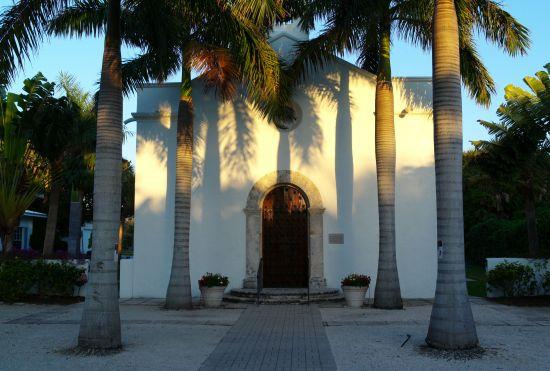 Our Lady of Mercy Mission. Boca Grande, Gasparilla Island, Fla. 2013. Paul Goldfinger photo. Copyright.