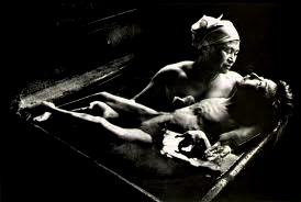 From the Minamata exhibit by W. Eugene Smith.