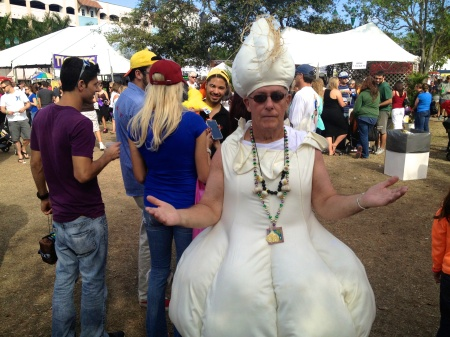 By Paul Goldfinger at the Garlic Festival, Delray Beach, Fla