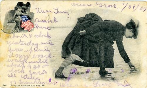 Ocean Grove postcard July 31, 1904.