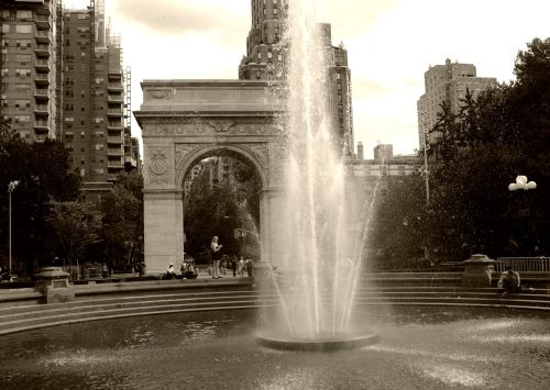 Washington Square Park. New York City street series. 2012. By Paul Goldfinger ©