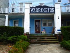 The Warrington is at 22 Lake Avenue in Ocean Grove, NJ