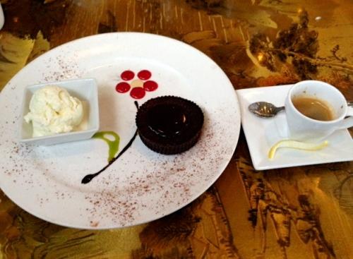 Paul's dessert at the Peking Pavilion