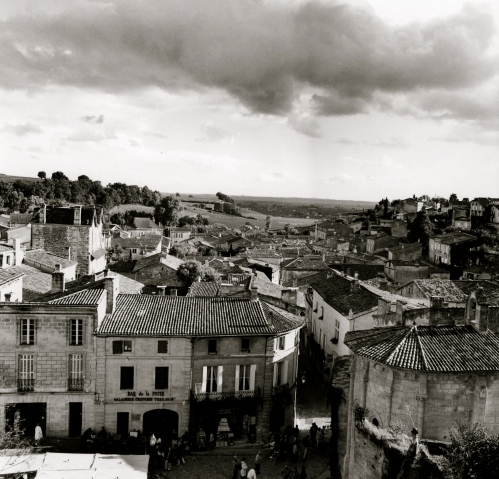 St-Emilion, France. Growers of Bordeaux wine. by Paul Goldfinger © Silver gelatin print. Left click for full view.