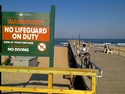 Thursday May 30. No lifeguards. Just sit around and enjoy.