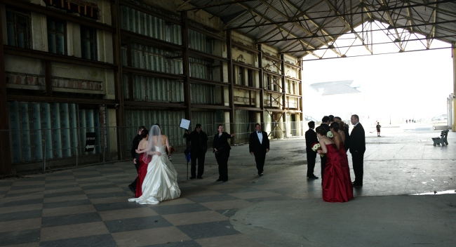 Wedding in the Casino. 2010.  By Paul Goldfinger. ©