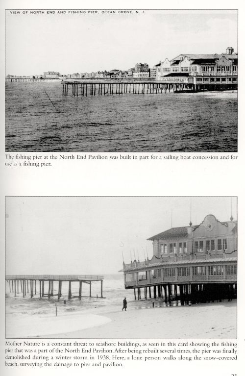 North End pier. From Bell and Flynn: Ocean Grove in Vintage Postcards