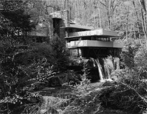 Falling Water. Photo by Paul Goldfinger. © Click left for bigger view.