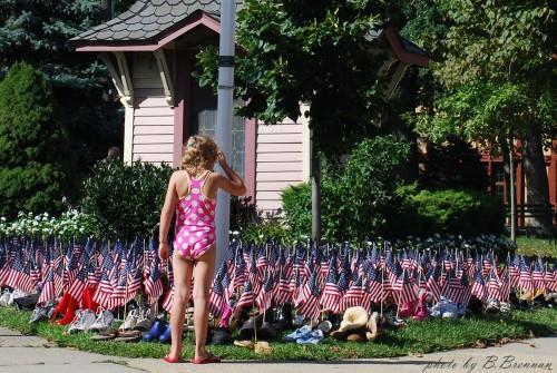9-11 event in Auditorium Park. By Barbara Brennan (OG photographer)
