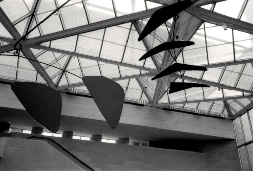 National Gallery of Art. Alexander Calder mobile. Photo by Paul Goldfinger © 1994