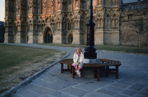 Salisbury, England. She was not with us.This image was not posed.     Photo by Paul Goldfinger ©