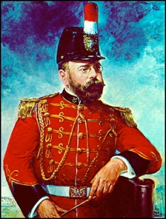 John Phillip Sousa in his military uniform.