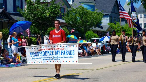 JULY 4, 2012.  Photo by Paul Goldfinger Ocean Grove, New Jersey.  Left click to make him taller.