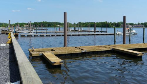 New bulkheads, docking posts, water and electric almost complete