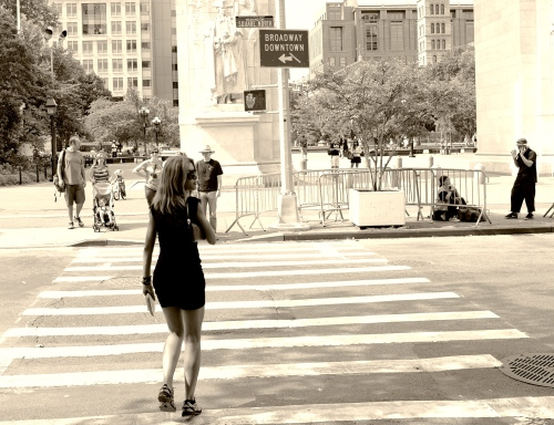 NYC Street Series. Washington Square Park. By Paul Goldfinger ©