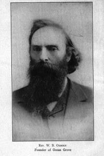 Rev. Alfred Osborn. Founder of Ocean Grove