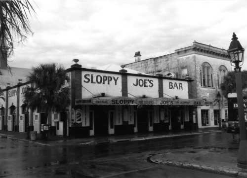 Sloppy Joe's (ext. 1933). Corner of Greene and Duval in Key West. Paul Golfinger photo © Click left for larger view.
