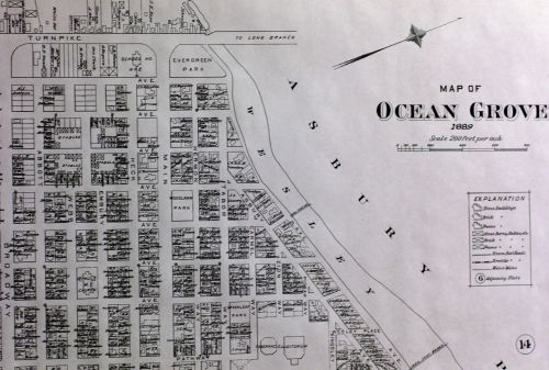 Sanborn maps were used to assess real estate until the advent of aerial photography.