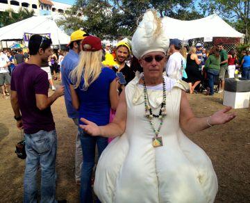 Garlic Festival in DelRay Beach, Florida, 2013. Paul Goldfinger photo ©