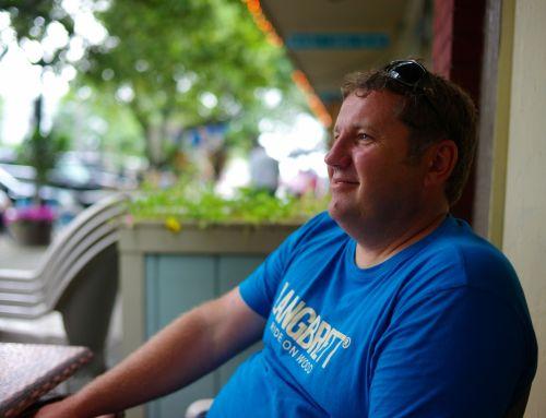 Steve Valk. Ocean Grove, NJ. August 3, 2013.   By Paul Goldfinger ©
