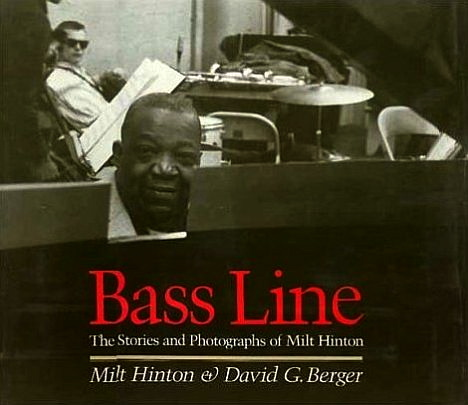 Milt Hinton co-wrote this book about jazz, containing his photos