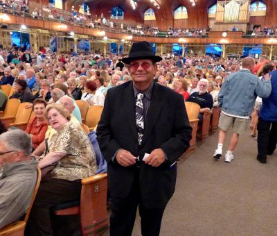 Pat Brenan of Neptune has been attending every Planotone concert for thirty years.