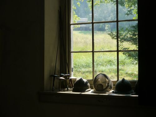 View from Andrew Wyeth's studio. 2013.  Chadds Ford, Pa. By Eileen Goldfinger