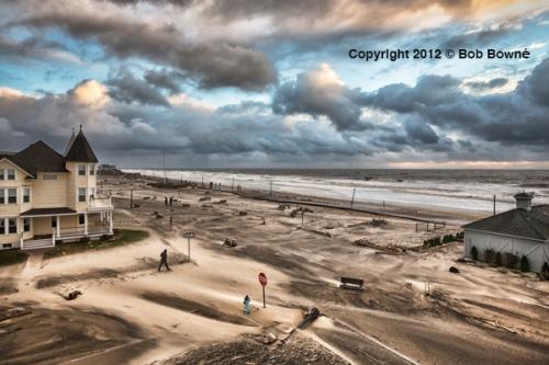Sandy: Ocean Avenue. By Bob Bowné