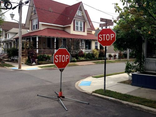 """I said """"Stop!"""" Don't make me say it again…Blogfinger photo  in Ocean Grove Oct. 2013"""
