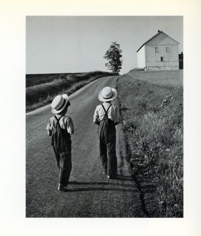 """Two Amish Boys"" From George Tice's book ""Fields of Peace."" ©"