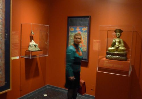 The Tibet Exhibit at the Newark Museum.  Photograph by Paul Goldfinger ©