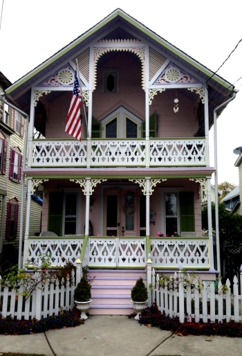 This old house is in the Grove.  Photo by Paul Goldfinger, this old photographer.
